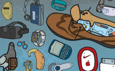 The timeline of wearables