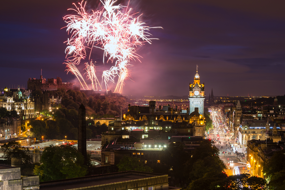Extra WiFi capacity in the festive season makes Edinburgh the place to be…