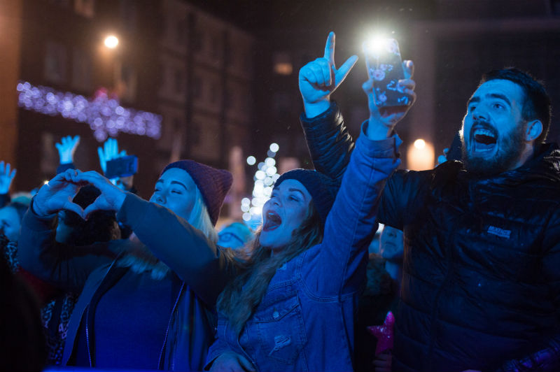 Coventry Christmas lights switch on marks launch of free city centre WiFi
