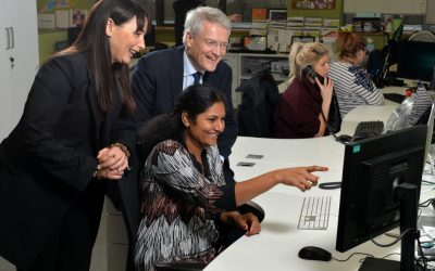 Government minister encourages more young women to join tech sector